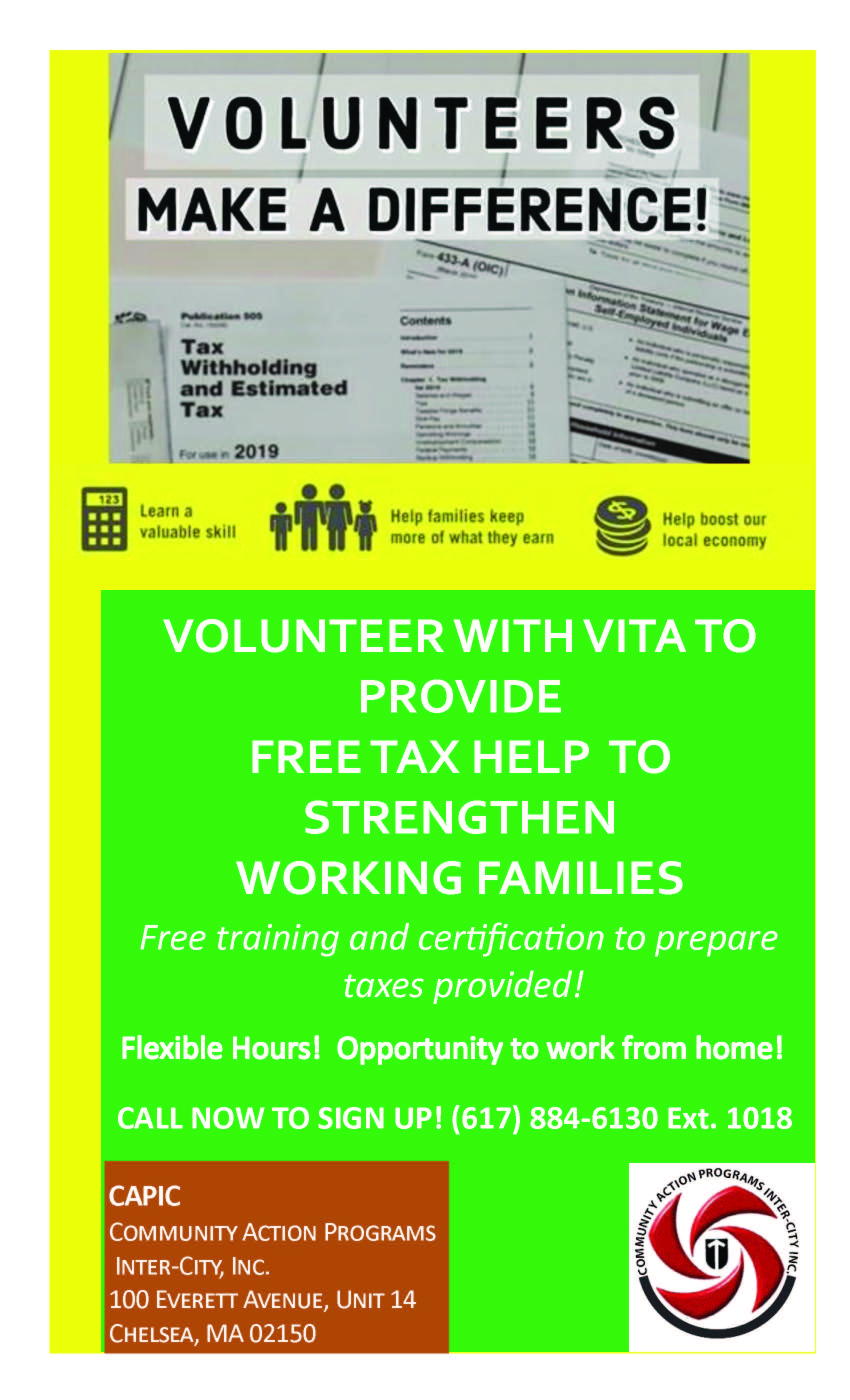 VITA Tax Prep Volunteers