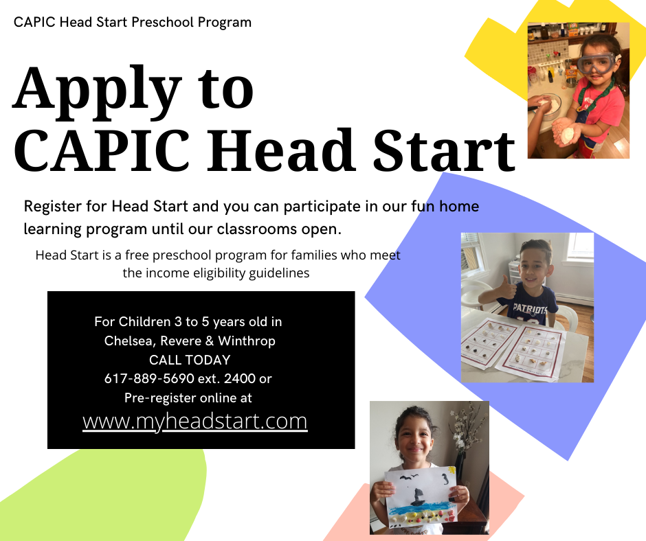 CAPIC Head Start Applications